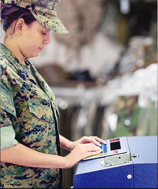Marine with MDT500 HE