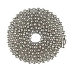 "SUPPLY DEPOT MILSPEC 4.5"" Stainless Ball Chain, bag of 100"